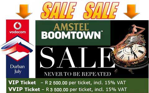Amstel Boomtown Flash Sale